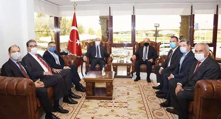 İzmir Valisi Köşger'e Anlamlı Ziyaret