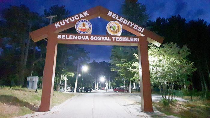 Dört mevsim huzurun adresi Belenova Sosyal Tesisleri